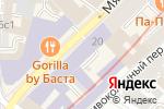 Схема проезда до компании БукВышка в Москве