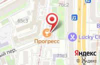 Схема проезда до компании Олнайтерс в Москве