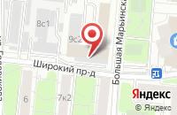 Схема проезда до компании Металлоснабжение и Сбыт в Москве