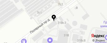NNService на карте Москвы