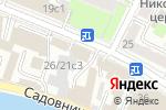 Схема проезда до компании Мемориальная музей-квартира Г.М. Кржижановского в Москве