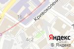 Схема проезда до компании Star Wars hostel в Москве