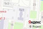 Схема проезда до компании Гимназия №1518 с дошкольным отделением в Москве