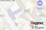 Схема проезда до компании АТС ОСТ в Москве