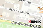 Схема проезда до компании Эка-финанс в Москве
