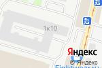 Схема проезда до компании Рекламный Легион в Москве