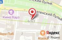 Схема проезда до компании Лавиния в Москве