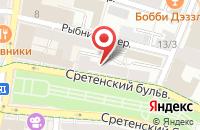 Схема проезда до компании Научно-Исследовательский Центр Архитектура Проектирование Строительство Изыскания в Москве