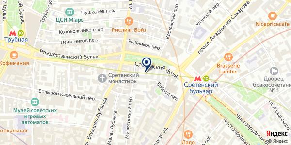 ЖКХ АДОНИС на карте Москве