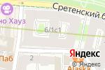 Схема проезда до компании Timberland в Москве
