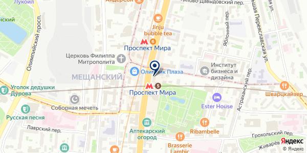 У Палыча на карте Москве