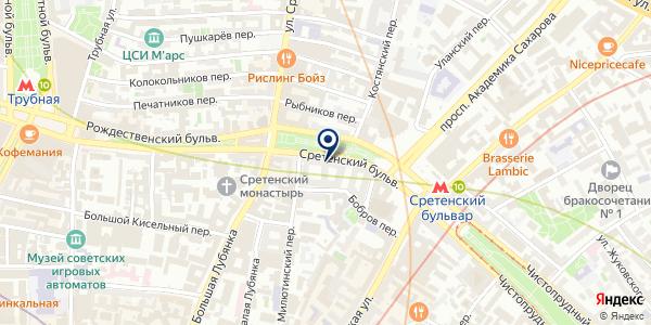 САЛОН КРАСОТЫ А-СРЕТЕНКА на карте Москве