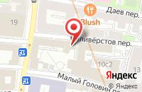 Схема проезда до компании Бест-Трейд в Москве