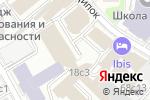 Схема проезда до компании FORTUNA в Москве