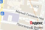 Схема проезда до компании Подводтрубопроводстрой в Москве