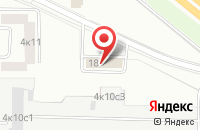 Схема проезда до компании Сонет в Москве