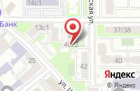 Схема проезда до компании Фешн Флер в Москве