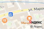 Схема проезда до компании Emoji Bar в Москве
