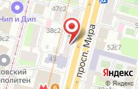 Схема проезда до компании Вест Сайд в Москве