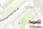 Схема проезда до компании FedEx в Москве