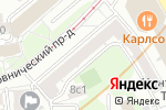 Схема проезда до компании I-service в Москве