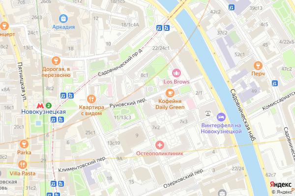 Ремонт телевизоров Руновский переулок на яндекс карте