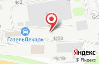 Схема проезда до компании Квирон в Москве