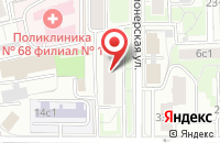 Схема проезда до компании  Амеро в Москве