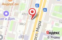 Схема проезда до компании  РМГ Медиа в Москве