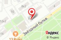 Схема проезда до компании Мастер Прайм в Москве