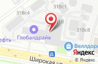 Схема проезда до компании Эй Джи Сервис в Москве