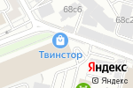 Схема проезда до компании Scavolini в Москве