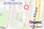 Схема проезда до компании Hostel-House.ru в Москве