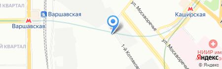 Теплофф на карте Москвы