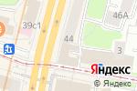 Схема проезда до компании Бинбанк кредитные карты в Москве