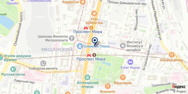Московская академия снукера на карте Москве