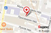 Схема проезда до компании Малый Головин в Москве