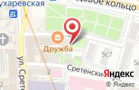 Схема проезда до компании Арк Плюс в Москве