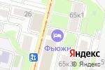 Схема проезда до компании Print-design в Москве