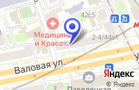 Схема проезда до компании ПТФ РЕЛАЙ-2001 в Москве