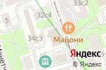 Схема проезда до компании Национальный благотворительный фонд в Москве