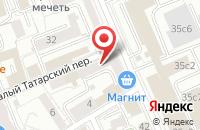 Схема проезда до компании Аванта в Москве