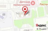 Схема проезда до компании Ремстройкоммуникации в Москве