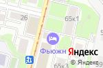 Схема проезда до компании За-рыбой в Москве