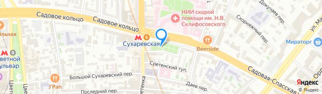 Большая Сухаревская площадь