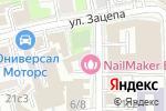 Схема проезда до компании Статус-Про в Москве
