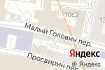 Схема проезда до компании Астра Трэвел в Москве
