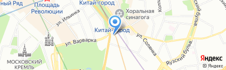 Банкомат АКБ Металлинвестбанк на карте Москвы