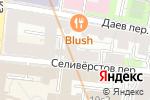 Схема проезда до компании Magic Blond в Москве