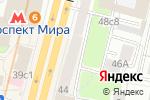 Схема проезда до компании MonAmour в Москве